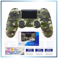 (Promo 1-22Okt) DS4 New DualShock 4 CUH-ZCT2G (Green Camouflage)