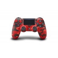 DS4 New Dual Shock 4 CUH-ZCT2G (Red Camouflage) Limited