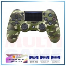 (Imlek) DS4 New Dual Shock 4 CUH-ZCT2G (Green Camouflage)