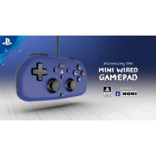 PS4 Wired Controller Light (HORI) Blue