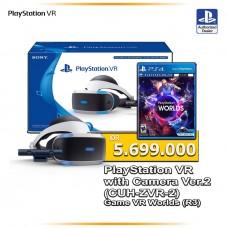 Playstation VR Versi 2 (CUH-ZVR-2 Asia Version) Camera Bundle + VR World (R3)