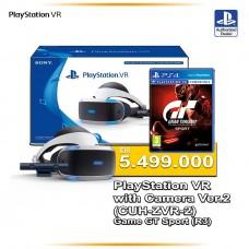Playstation VR Versi 2 (CUH-ZVR-2 Asia Version) Camera Bundle + Granturismo R3