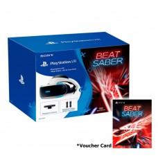 Playstation VR Versi 2 (CUH-ZVR-2) Beat Saber Pack (Camera +2pcs Move Motion +Game DLC) +Game pilih