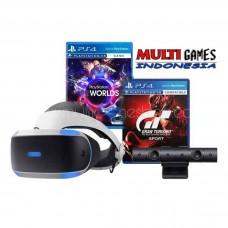 Playstation VR Versi 2 (CUH-ZVR-2 Asia Version) Camera Bundle + GT Sport (R3) & VR World (R3)
