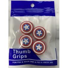 Analog Thumb Grips Capt.America