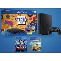 PS4 Slim 1TB Starter Pack Bundle (Fifa+Overcooked2)