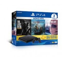 PS4 Slim 500GB HITS 2018 Bundle (3 Games + PSN)