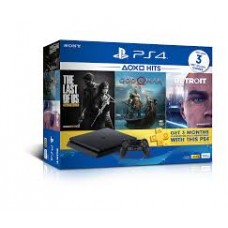 PS4 Slim 500GB HITS 2018 Bundle (3 Games + PSN)