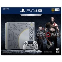PS4 Pro 1TB (CUH-7106B) God Of War Special Limited Edition
