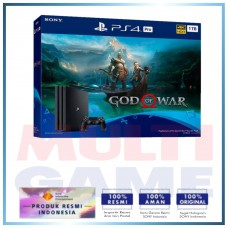 PS4 PRO 1TB (CUH-7106B) God of War Bundle Jet Black