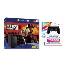 PS4 Pro 1 TB Bundle Red Dead Redemption 2 Special Edition + Extra 1DS4 Black