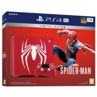 PS4 Pro 1TB (CUH-7106B) Marvel Spiderman Limited Edition (Ready)