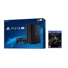 PS4 PRO 1TB (CUH-7106B) Asia Version Jet Black + Game Shadow Of War (R3)