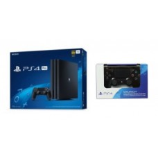 PS4 PRO 1TB (CUH-7106B) Black+ Extra New DS4 Jet Black