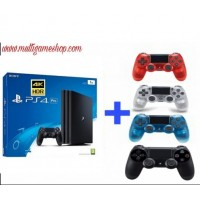 PS4 PRO 1TB (CUH-7106B) Jet Black (Asia Version) + Extra New DS4