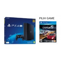 PS4 PRO 1TB (CUH-7106B) Asia Version Jet Black + Game