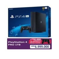 (Promo School Holiday) PS4 PRO 1TB (CUH-7106B) Jet Black (Asia Version) + Extra DS4 Black