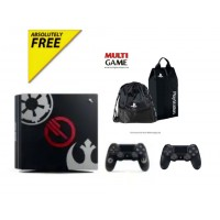 PS4 Pro 1TB (CUH-7106B) Starwars Battlefront 2 (Game Deluxe) + Extra DS4 Black + PSN 3Bln + 2 Bag