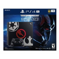PS4 Pro 1TB (CUH-7106B) Starwars Battlefront 2 (Game Deluxe & PSN 3Bln )