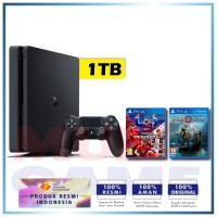 (2020) PS4 Slim 1TB PES 2020 Pro Evolution Soccer eFootball & God Of War