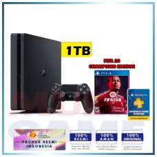 (Imlek) PS4 Slim 1TB Fifa 20 Champions Edition Bundle
