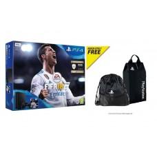 PS4 Slim 500GB (CUH-2106A) Bundle FIFA 18 (Game Fisik & Icons + PSN 3Bulan) +1Bag