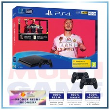 (11.11 PROMO)  PS4 Slim 500GB FIFA 20 Bundle 2 Controller DS4