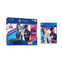 --PO-- PS4 Slim 500GB (CUH-2106A) Bundle FIFA 19 Champions Edition Game Fisik + PSN 3Bulan (Sept 25, 2018)
