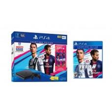 PS4 Slim 500GB (CUH-2106A) Bundle FIFA 19 Champions Edition Game Fisik + PSN 3Bulan