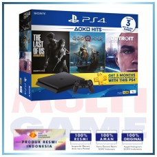 (11.11 PROMO) PS4 Slim 1TB PLAYSTATION HITS Pack (3 Games + PSN 3Bln)