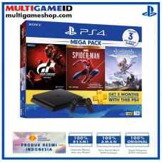 PS4 Slim 1TB Mega Pack #3 Spiderman (3 GAME +PSN)