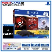 PS4 Slim 1TB Mega Pack #3 Spiderman (3 GAME +PSN) +Game