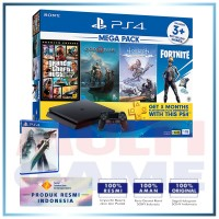 (Official) PS4 Slim 1TB Mega Pack #2 (4 Games + PSN) +PS4 Final Fantasy VII Remake (R3)