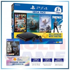 (Official) PS4 Slim 1TB Mega Pack #2 (4 Games + PSN) +PS4 The Last Of Us Part II Std (R3)