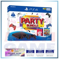 (2020) PS4 Slim 500GB Black Party Bundle 2Game + 2DS4