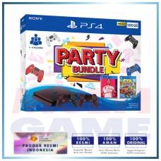 (2020) PS4 Slim 500GB Black Party Bundle 2Game + 2DS4