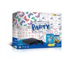 PS4 Slim 500GB  PARTY Bundle (2Games + PSN)