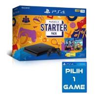 PS4 Slim 1TB Starter Pack +Extra GAME PILIH