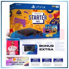 (11.11 PROMO) PS4 Slim 1TB Starter Pack +Extra DS4 Black +PS4 Fifa 20 (R3)