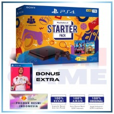 (11.11 PROMO) PS4 Slim 1TB Starter Pack + Game FIFA 20 Region 3