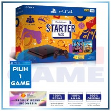 PS4 Slim 1TB Starter Pack +Extra GAME PILIH