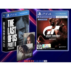 2in1 The Last of Us Part II Special Edition +GT Sports
