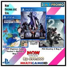 3in1 Digimon Hacker +Dvil May Cry5 +Destiny2