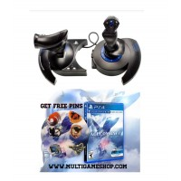 Thrustmaster T-FLight HOTAS 4 Ace Combat Limited + PS4 Ace Combat 7 R3 PIN Edition