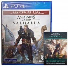 Assassins Creed Valhalla Limited Edition +DLC