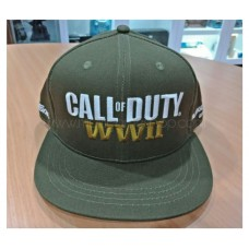 Call Of Duty COD WWII Green Army Cap
