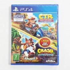Crash Bandicoot N-sane Trilogy + CTR Crash Team Racing Nitro Kart Double Pack (Rally)