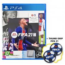 FIFA 21 Standard Edition +Thumb Grip Putih