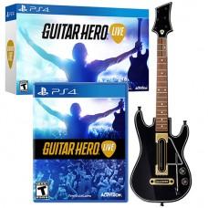 Guitar Hero Live Game + Guitar Bundle (Rating 7.9) (Music)
