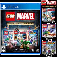 Lego Marvel Collection (Lego Marvel SH1 & 2, Lego Avenger) +All Season Pass
